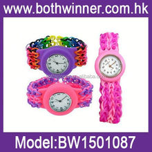 First class all colors kids rubber watches silicone