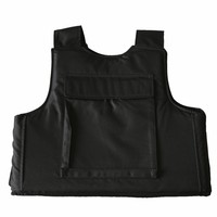 black PE stab proof vest for sale