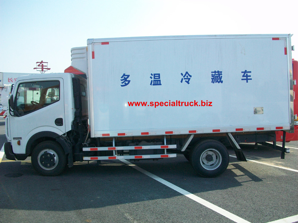 Nissan Refrigerator Truck 4*2 1-5 Ton payload for sale