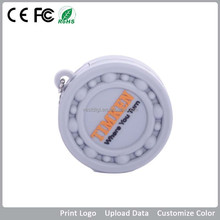 guangdong bulk colck silicon/pvc PMS color 8g customized logo 2.0 thumb usb