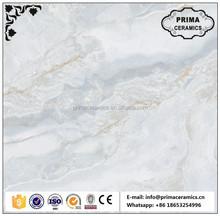 zibo manufacturer roofing tile full polished glazed porcelain ceramic tile 600*600
