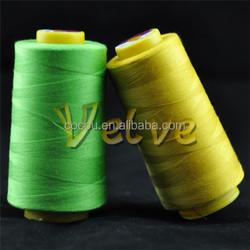 100% spun polyester uv resistant thread