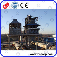 Energy saving vertical preheater lime rotary kiln