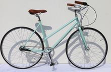 700C FIX GEAR SINGLE SPEED adult bike/bicicleta/aluminum/cr-mo/ Steel CROSS TRACKING RACING BICYCLE