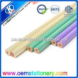 7'' round HB wooden pencils with eraser