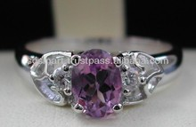 Silver 925 Gemstone Amethyst Jewelry Wholesale Factory in Thailand..!!