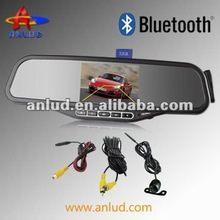 ALD100B bluetooth handsfree car kit rearview mirror