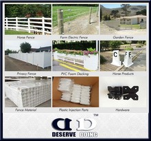 High quality plastic pvc picket fence/temporary picket fence