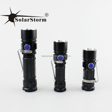 Solarstorm SC03 New Arrival Aluminum mini pocket led flashlight