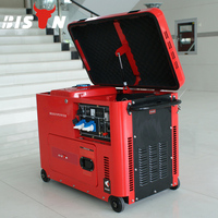 BISON(CHINA)Brand New Diesel Generator 5kw Genset