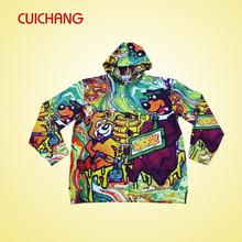 cusotm sublimation printing custom zip up hoodies