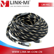 LINK-MI OEM Hign-Resolution 1080p 25m long distance HDMI Cable