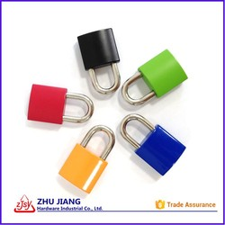 Mini Zinc Alloy Padlock With Different Color