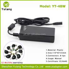 Good Products Multi 48W Power Laptop Adaptor with 9.5V - 24V