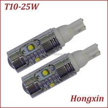 New type ! 194 w5w T10 25w car led wedge light 12v 24v