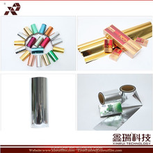 Hot stamping film for paper and plastic printing
