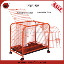 Two Door Design 78Lx48Wx71Hcm Painting Colorful Kennel Dog Transport Cage