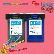 New! Hot! ink cartridge compatible for hp 21 22 ink cartridge