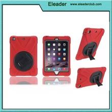 Heavy duty Plastic & Silicone Combo Case for iPad Mini,universal case for iPad Mini 1/2/3