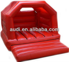 15ftx12ft Simply Red Adult Bouncy Castle/kids bounce castle/inflatable jumper bouncer with fitted rain cover