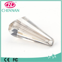 Yiwu Crystal Conical Beads in Bulk Loose Crystal Beads Lighting accessories Fancy Beads