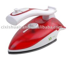 Teflon-coated Dual Voltage Travel Steam Iron with Vertical Steaming and Burst Steaming