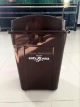 Euro-Market green top dustbin book corner protectors recycle bin color code