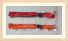 2014 promotion woven wristbands for festival