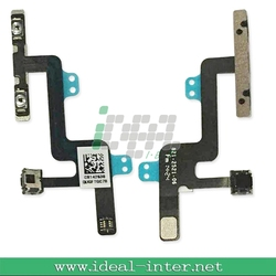 Brand new volume flex cable For apple iphone 6 ,for iphone 6 spare parts