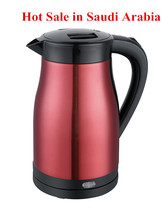 2015 Saudi Arabia new design hot sale home appliance product----304 stainless steel electric kettle made by BAIDU