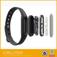 Promotional XIAOMI Colorful Phone Sport Silicon 4.0 Wrist Smart Bracelet Bluetooth Wireless LED Watches