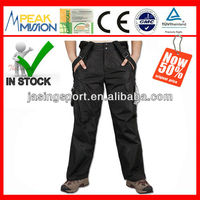 Camping and hiking detachable inner fleece pant winter men trousers C407