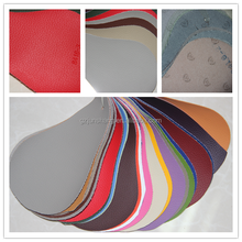 Embossed PVC leather car seat cover and furniture usage with kinds of color