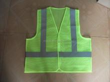 Malha colete de segurança com PVC bolso