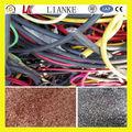 Iso certificated reciclagem de cobre preços/fio de cobre de resíduos de equipamentos de granulação 400~500kg/rh com alta eficiência