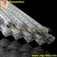 double-sided illumination 12v/24v SMD led rigid strip,aluminium profile led bar