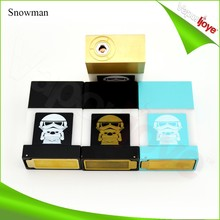 Vaporijoye original e cigarette unregulated box mod snowman vape mods