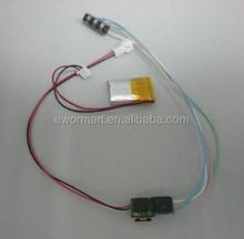 Smallest magnetic card reader 3 track head Msr 009,MSR 008,MSRV 007, msr 206