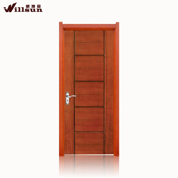 latest wooden door design simple living room door view
