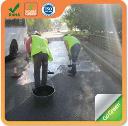 Go Green black color asphalt pavement sealer coating