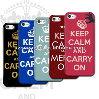keep calm and carry on design cover case for mobile phone for iphone 5 5s 6 6S