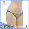 Made in China Elegant Blue Female Underwear Models