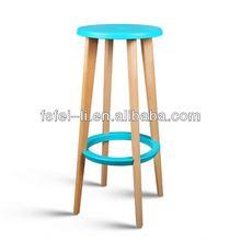 Modern kids wooden stool for dining