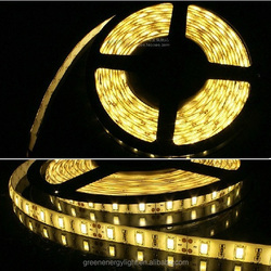 2015 Waterproof IP65-67 DC12V SMD5630/5050 60D led strip light for holiday