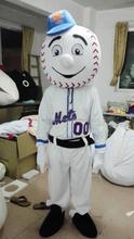 adult size mr met costume/ met mascot, walking promotional mascot costume