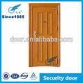 Design de luxo a frio- aço laminado porta única porta externa