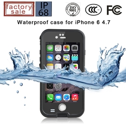 For iphone 6 waterproof case, waterproof case for iphone 6, factory direct selling!!
