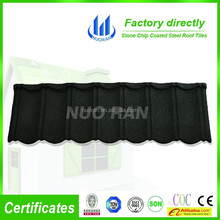NUORAN stone coated sheet metal roofing shingles/roof tile factory in guangzhou