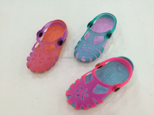 2015 new arrival translucent pvc girls sandals cute jelly sandals