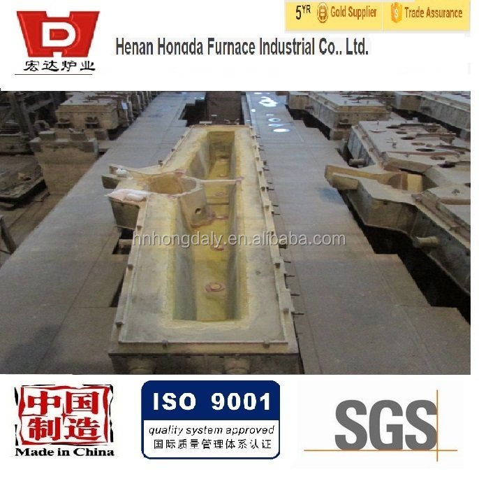 Tundish Mold Continuous Casting : Alkaline dry vibration fireproof materials for tundish